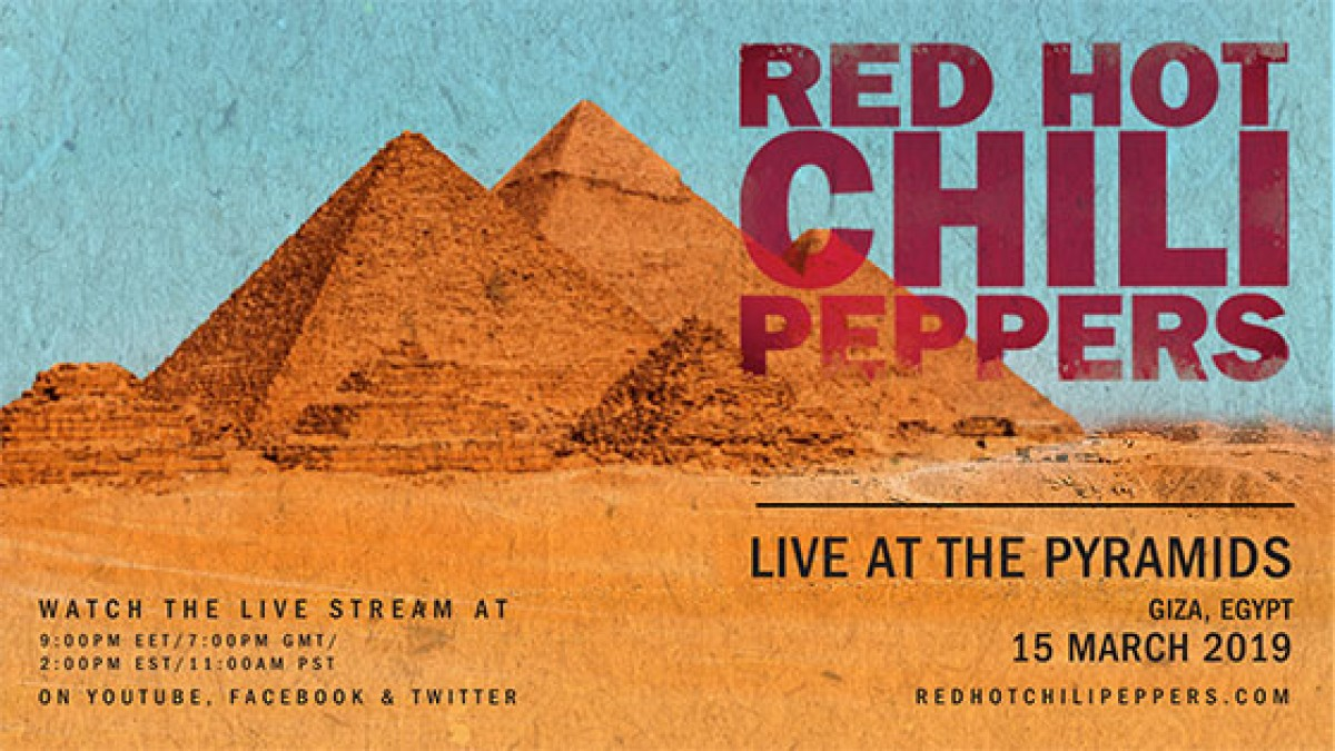 Concert - Live At The Pyramids - 15/03/2019 (replay)